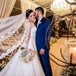 Casamento Clássico Romântico no Espaço Único Festas | Noiva Internovias Raphaela