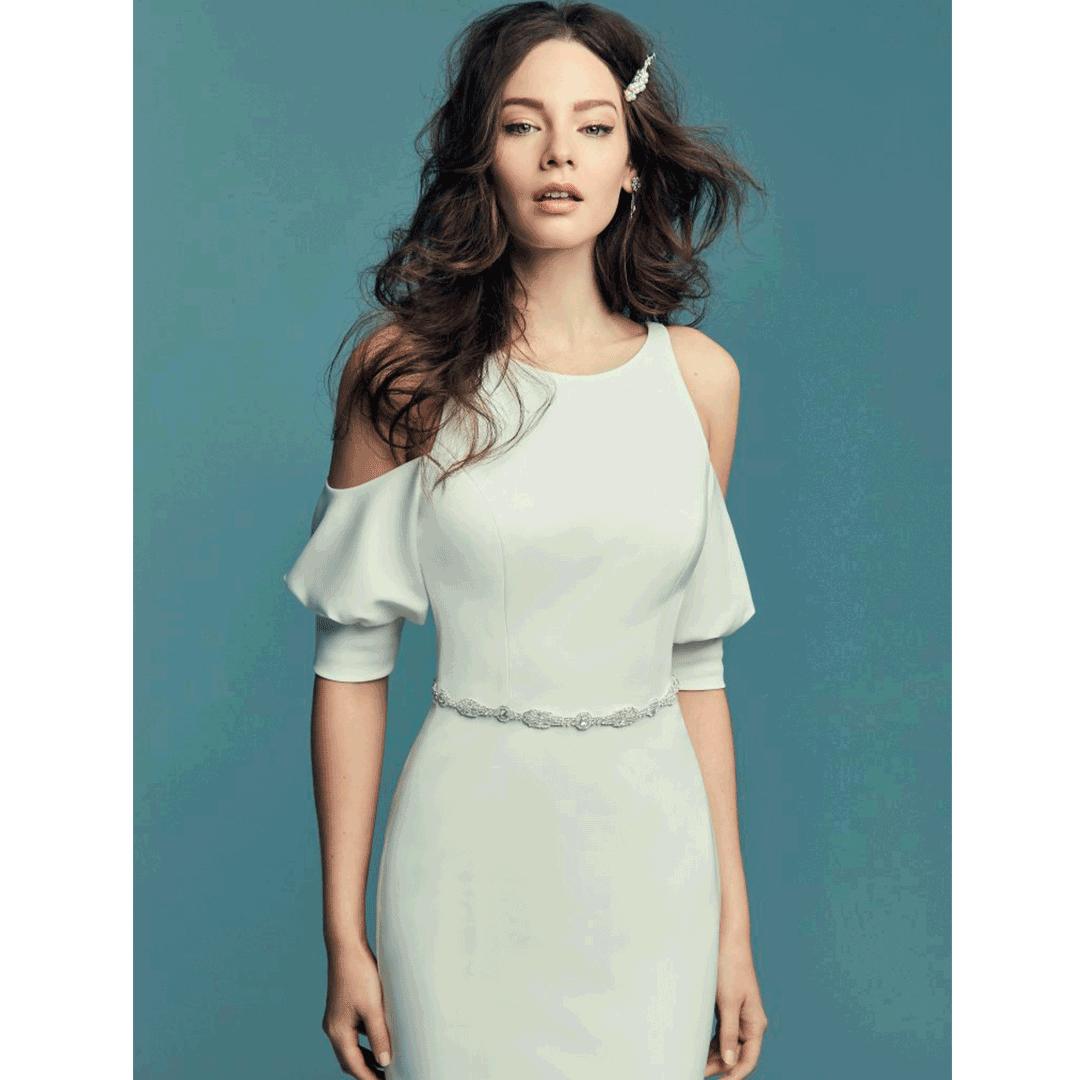 Como escolher o vestido de noiva para casamento no civil?