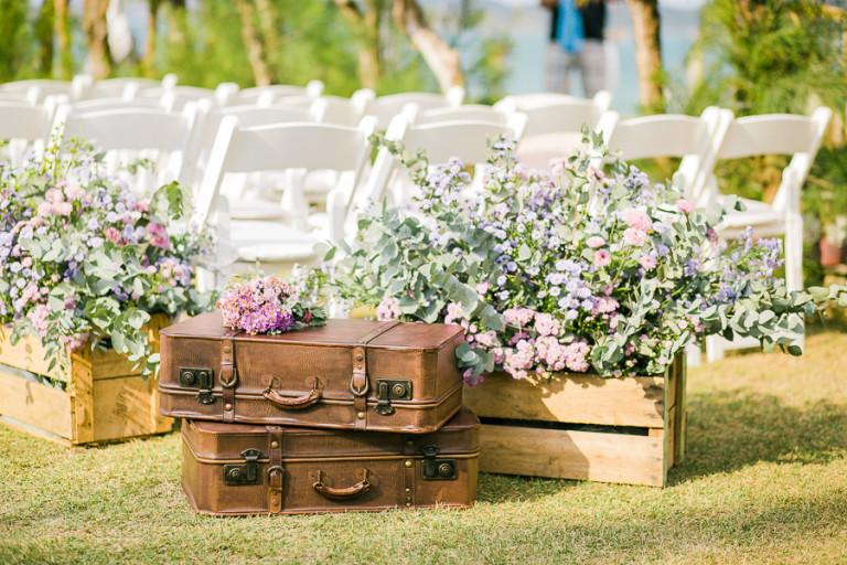 Pallets na Decoração do Casamento