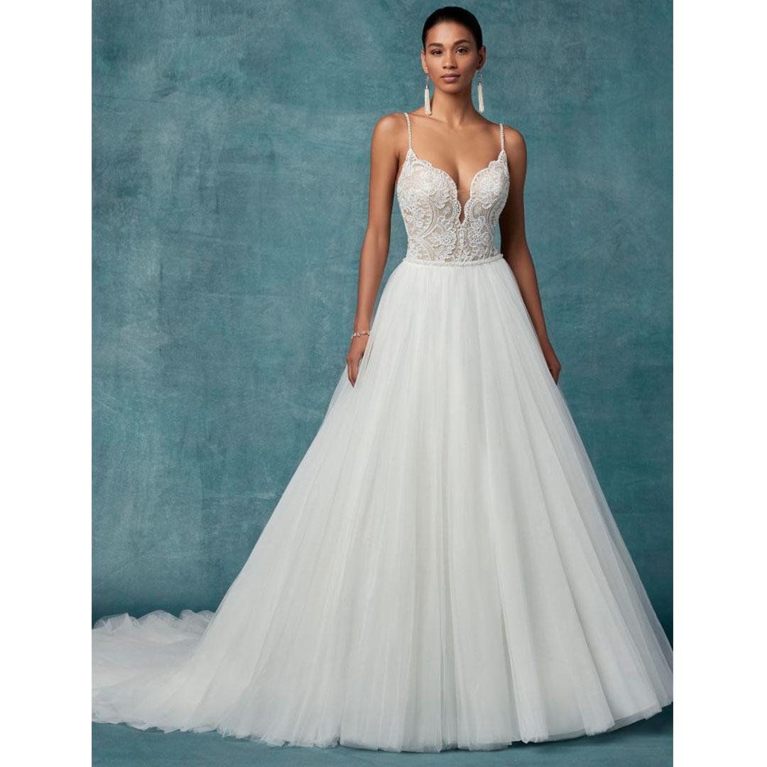 Vestidos de noiva com tule