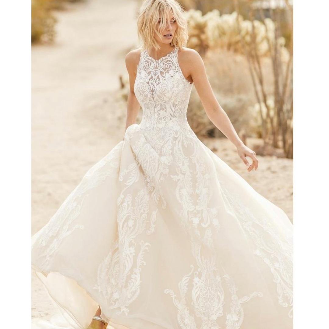 10 vestidos de casamento simples para a noiva minimalista