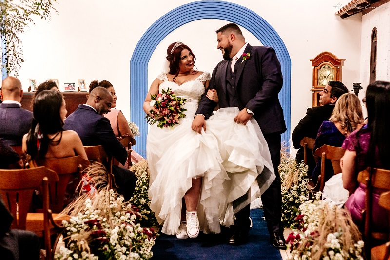 Casamento Romântico Rústico no Sítio Enfesta | Noiva Internovias Danielle