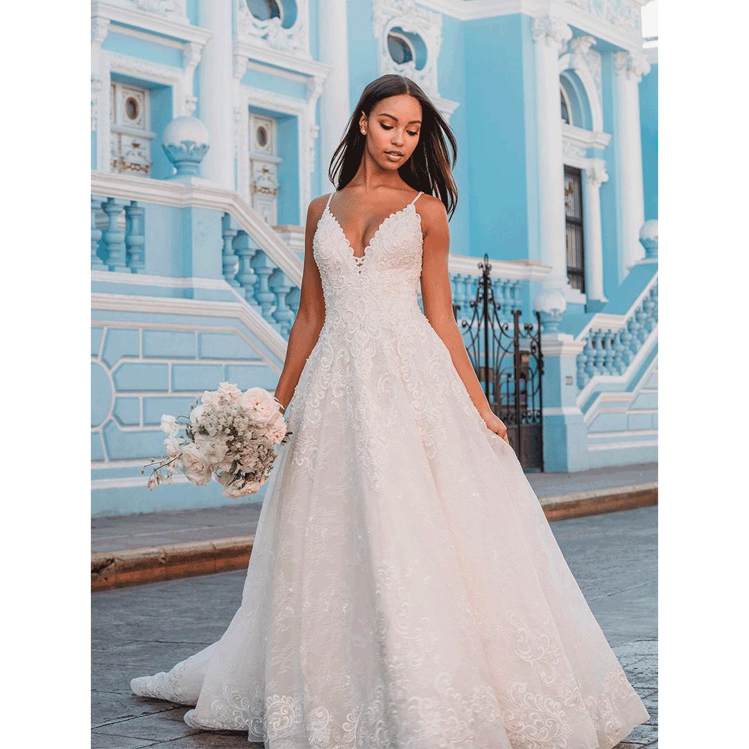 Vestidos de noiva simples e modernos