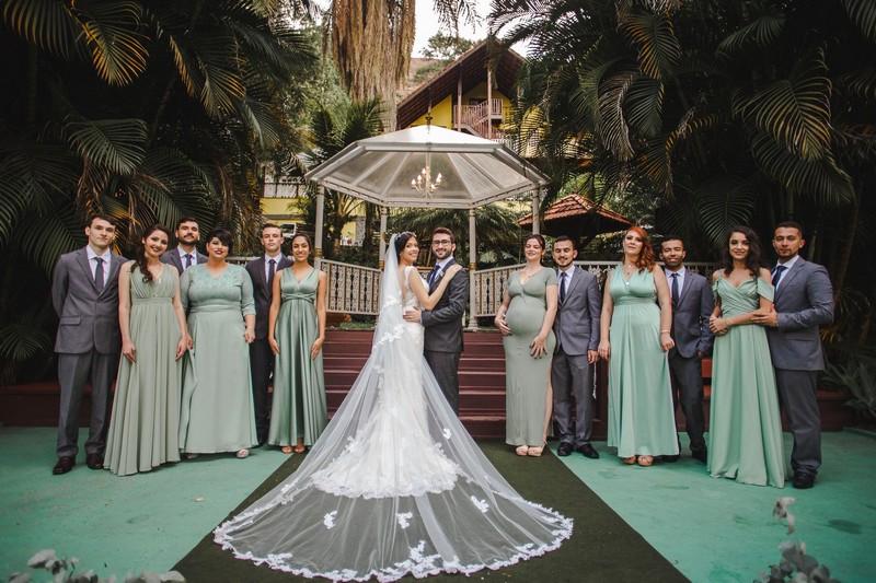 Casamento Rústico Chic na Pousada Recanto dos Pinheiros | Noiva Internovias Bruna