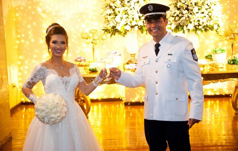 Casamento Clássico no Clube Militar da Lagoa | Noiva Internovias Maria Stella