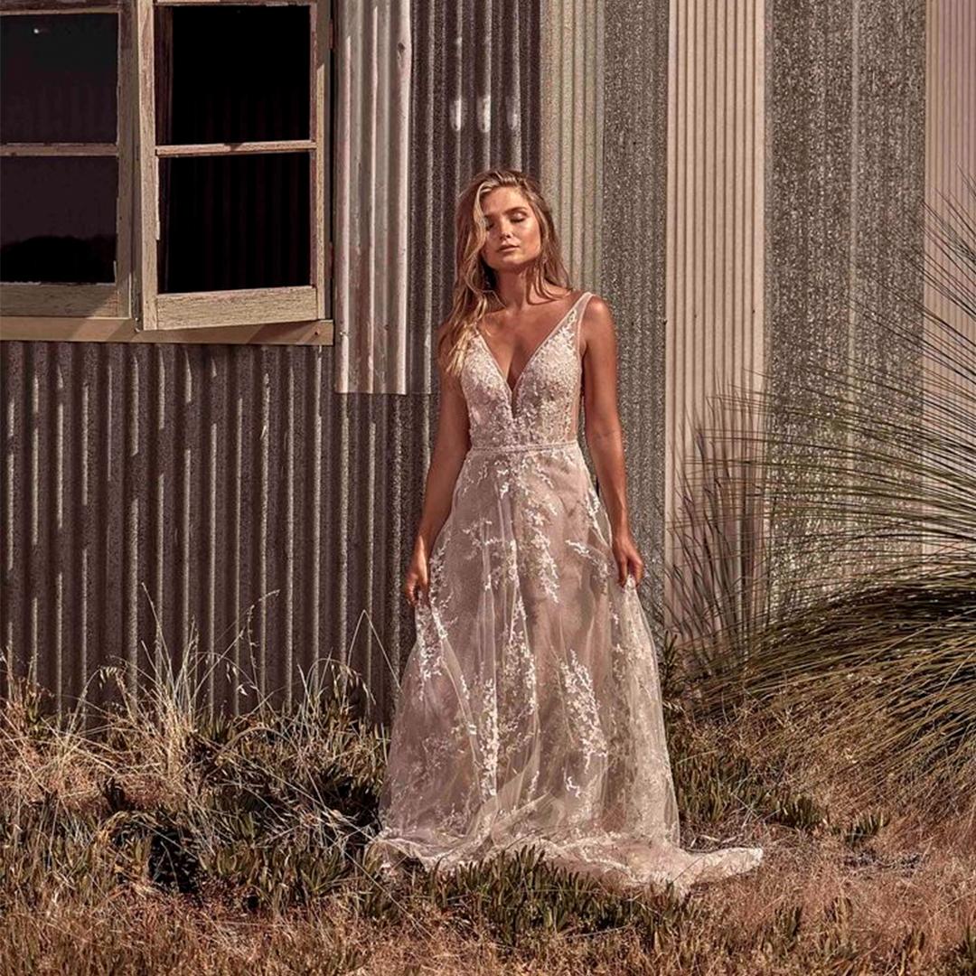 O vestido de noiva perfeito para cada mês do ano