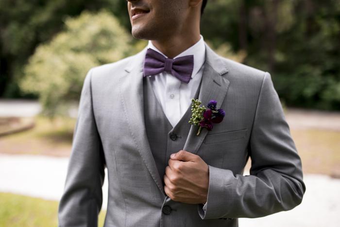 Gravata borboleta no casamento