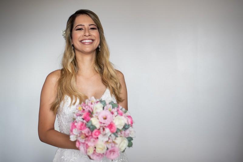 Casamento de Dia Romântico no Zéfiro Eventos | Noiva Internovias Alessandra