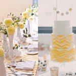 Amarelo na decoração do casamento