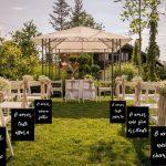 Inspirações para casamentos no sítio