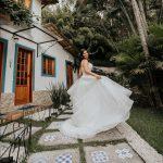 Casamento ao Simples ao Ar Livre na Casa de Festa Vila Monsaraz | Noiva Internovias Marilia