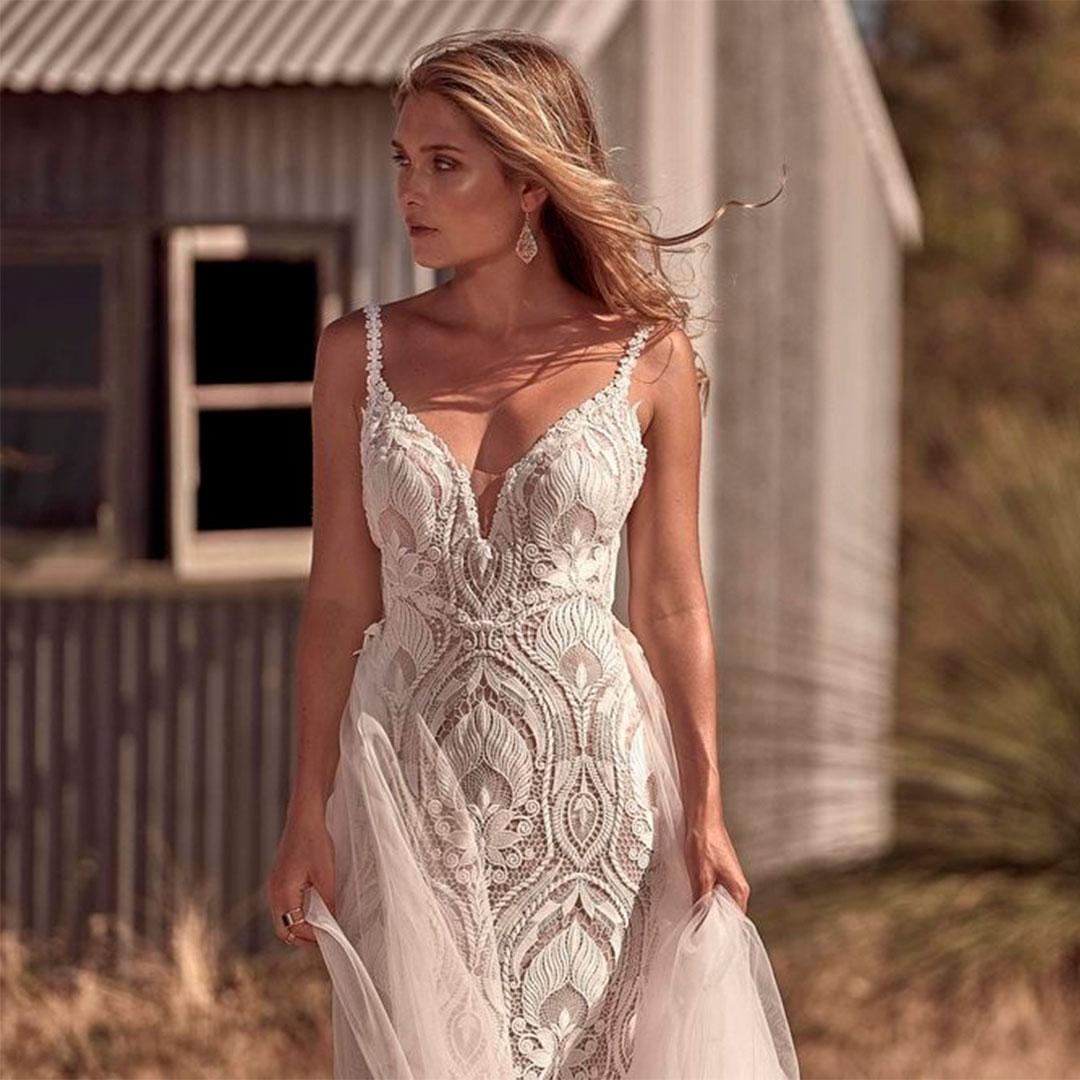 Vestido de noiva simples para qualquer ocasião