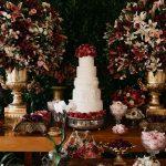 Inspirações para bolos de casamentos
