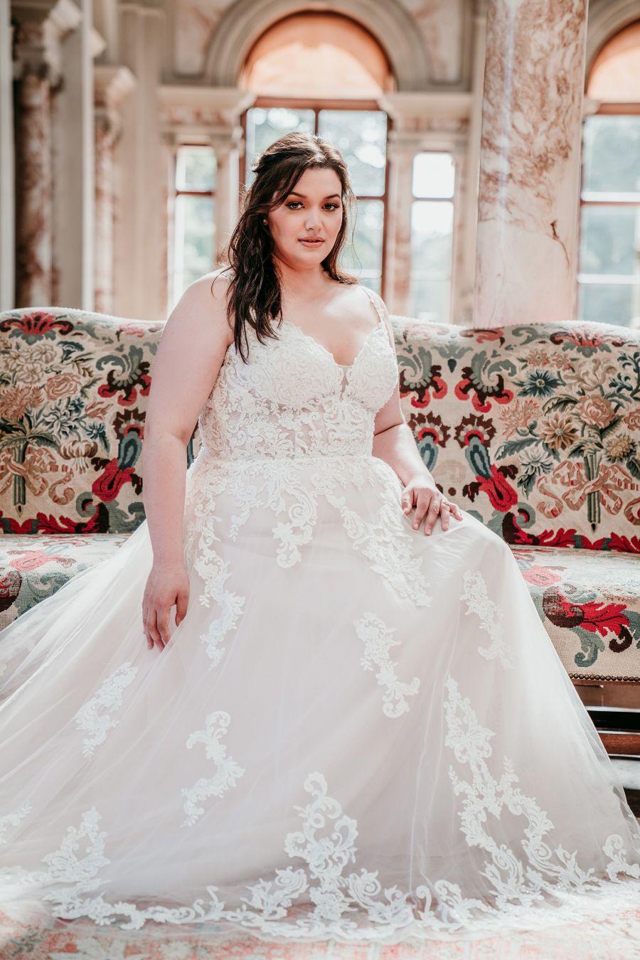 Dicas para a escolha do vestido de noiva Plus Size dos Sonhos