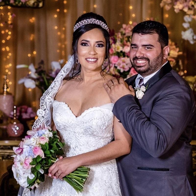 Casamento Clássico no Espaço Golden Palace   Noiva Internovias Isabel