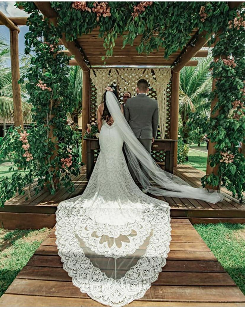 Vestido de noiva com cauda: 4 tipos de cauda para você se apaixonar