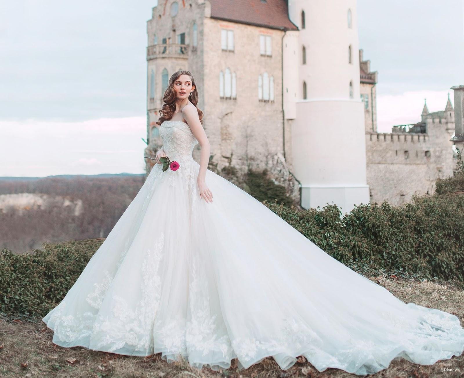 Vestido de noiva Disney: peças inspiradas em cada princesa