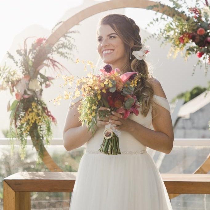 Mini Wedding ao Ar Livre   Noiva Internovias Erika