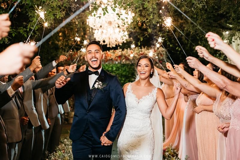Casamento ao Ar Livre no Sítio Marron Glacê | Noiva Internovias Michele