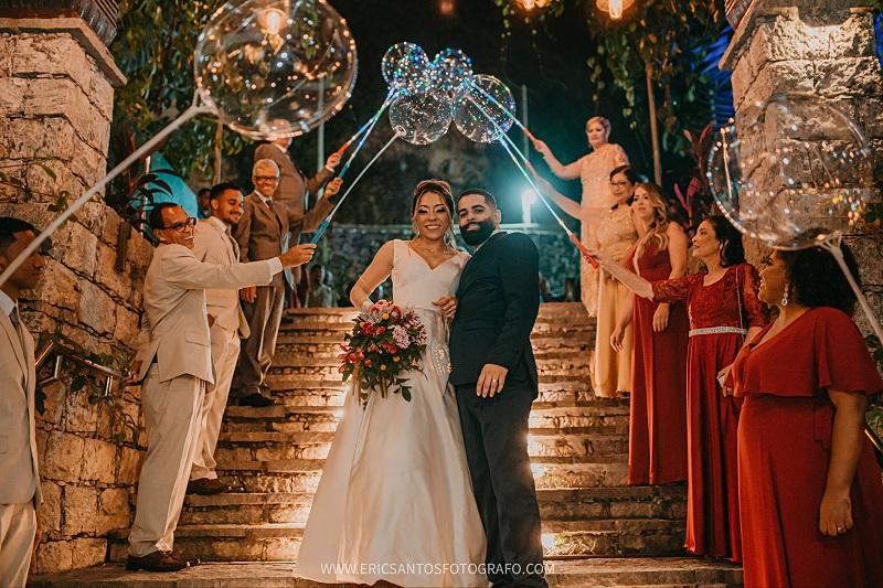 Casamento ao Ar Livre à Noite na Ticho House | Noiva Internovias Fernanda