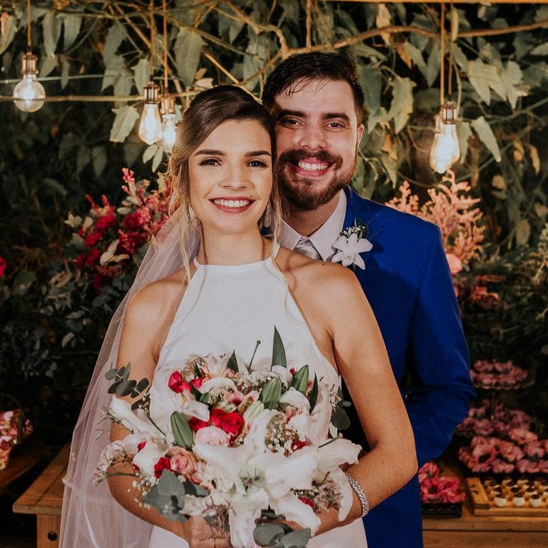 Casamento ao Ar Livre à Noite no Sítio Enfesta | Noiva Internovias Bruna