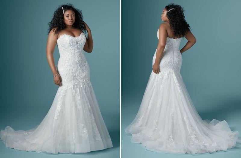 Vestido de noiva para casamento em sítio