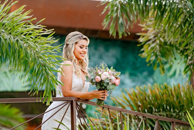 Casamento ao Ar Livre no Jardins Independência | Noiva Internovias Daphinie