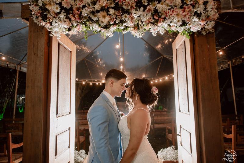 Casamento ao Ar Livre no JP Salão de Festas   Noiva Internovias Giulia