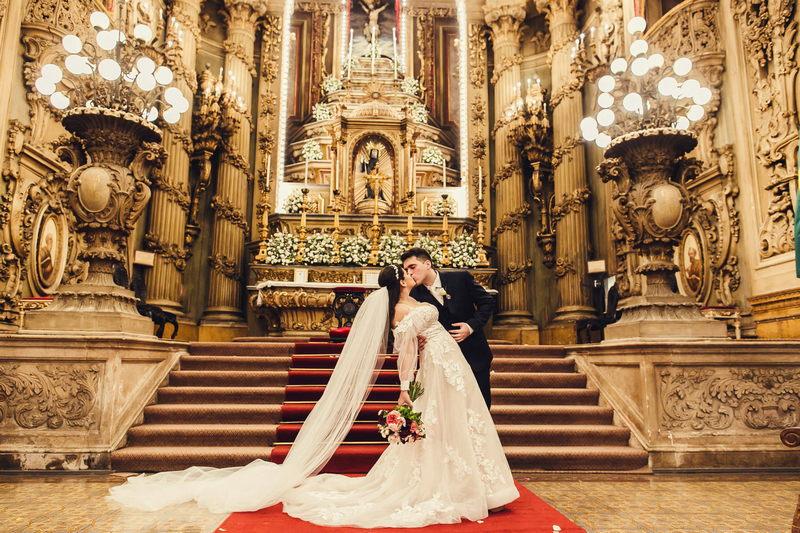 Casamento na Igreja Igreja São Francisco de Paula | Noiva Internovias Andressa
