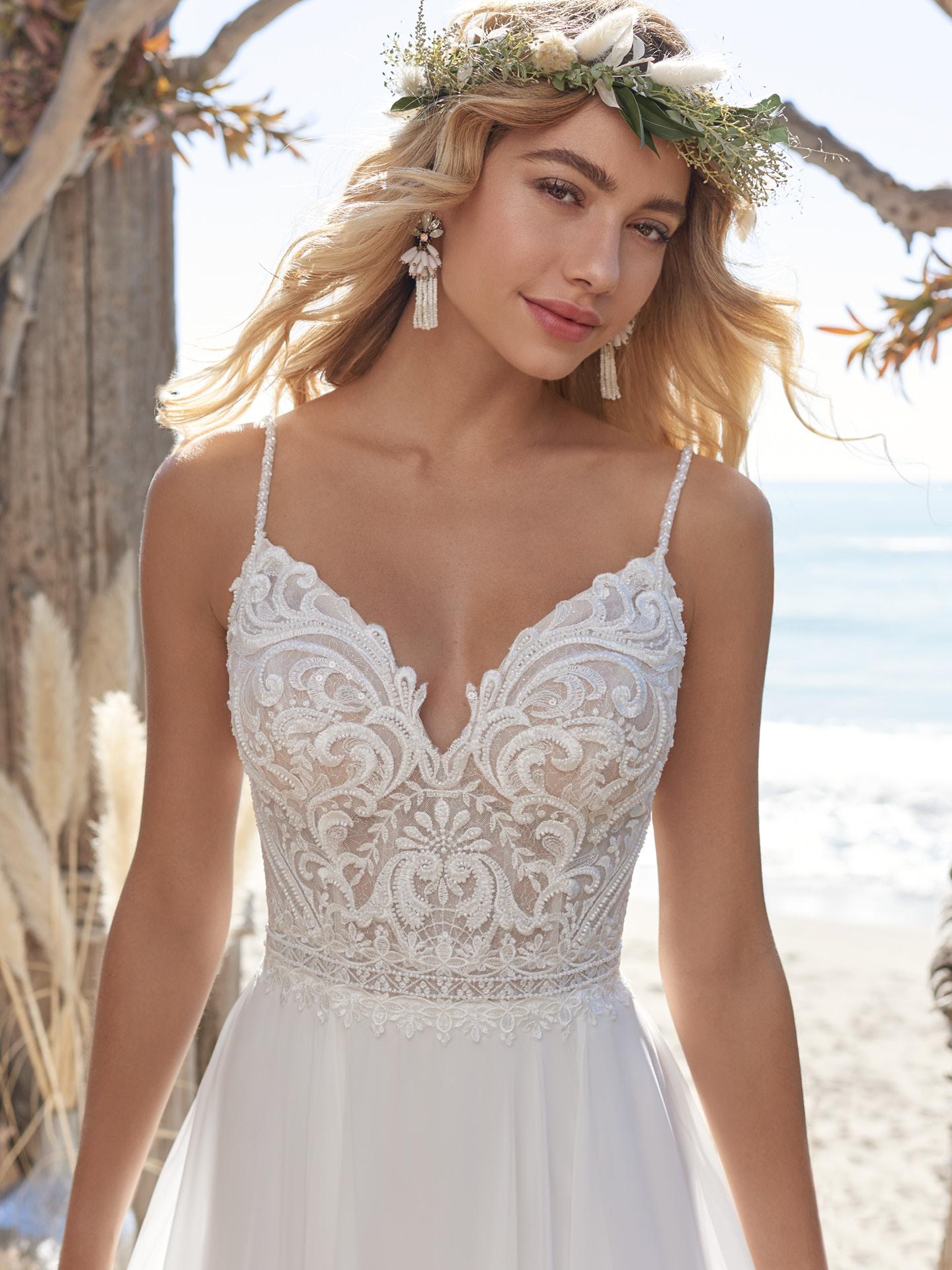 Vestido para casamento ao ar livre: como combinar com o cenário